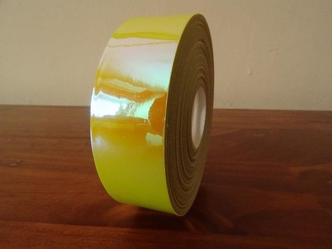 טייפ צהוב מבריק לחישוק