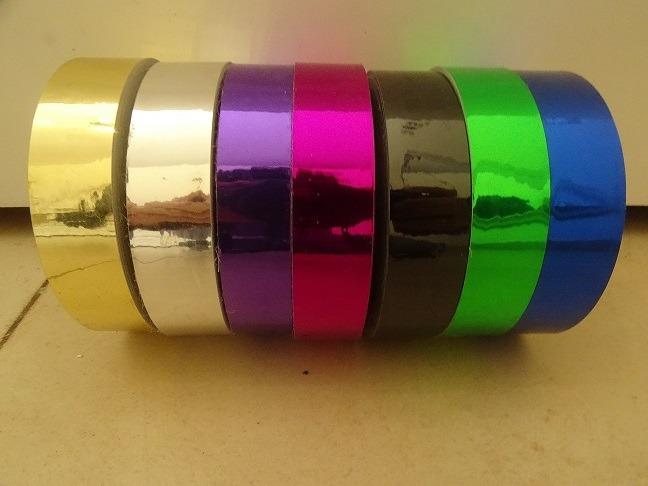 טייפים לקישוט הולה הופ צבעי מראה