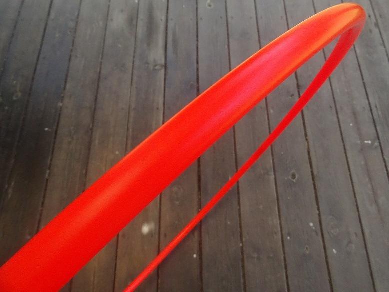 חישוק הולה הופ פוליפרו-אדום זוהר