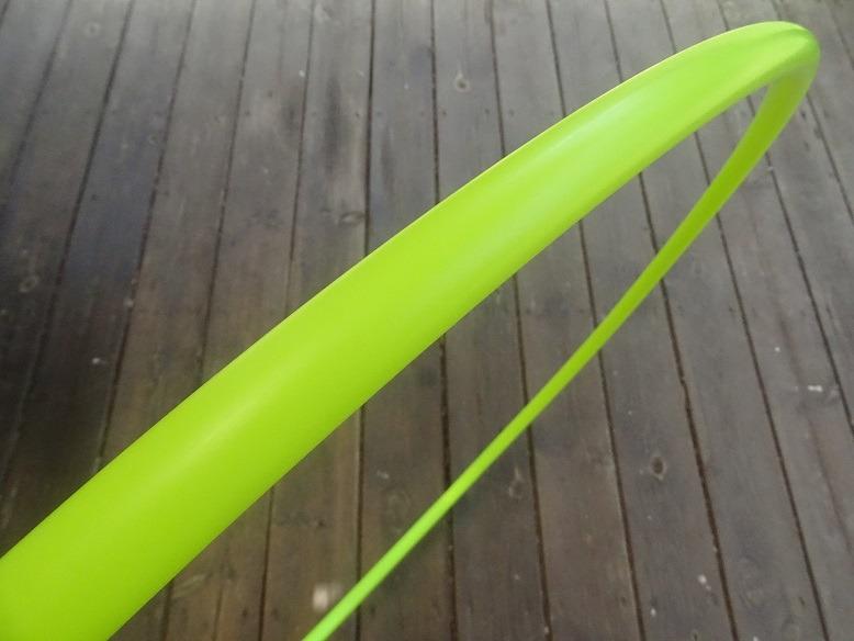 חישוק הולה הופ פוליפרו-צהוב זוהר